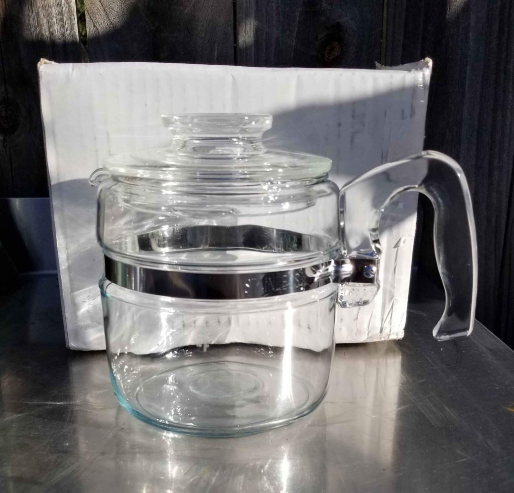 How to use a glass coffee percolator