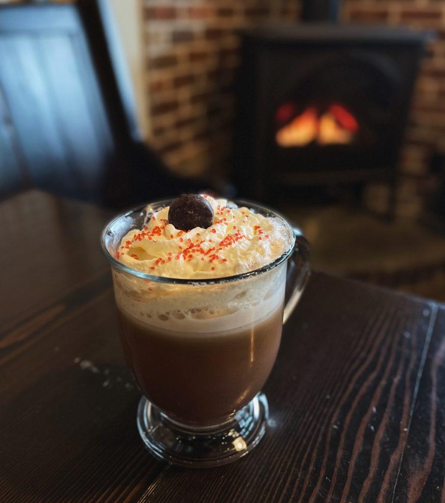 Frozen Oat Milk Latte Coffee